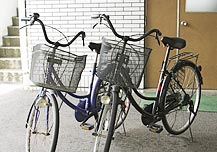 自転車貸し出しのイメージ